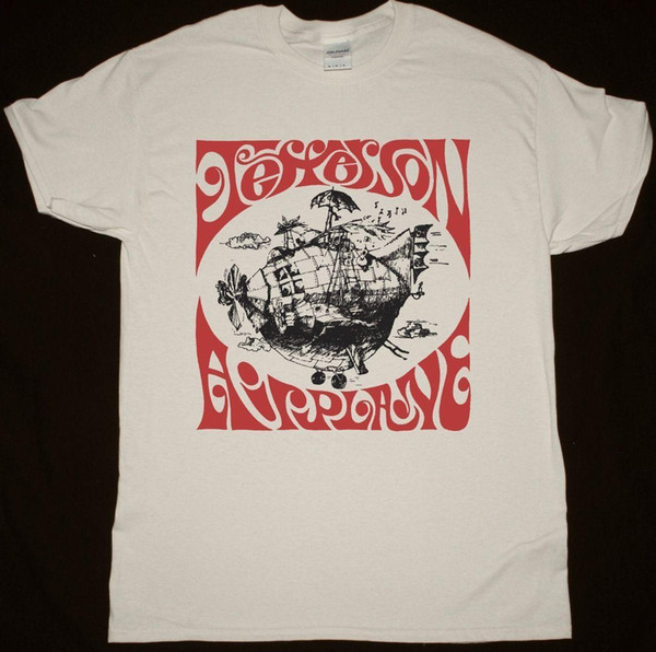 JEFFERSON Airplane Airplane SHIRT NATUREL T-SHIRT PSYCHEDELIC ROCK ACID WOODSTOCK