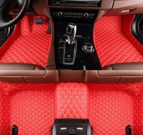 Suitable for 2009-2018 Toyota Highlander luxury waterproof pad car floor mat pad front and rear carpet pad 7 seat