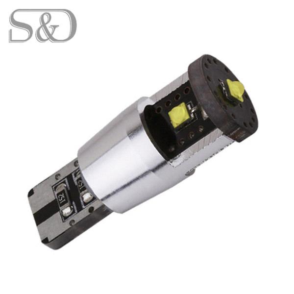 Cree Chips 15W T10 W5W Weiß CANBUS OBC Fehlerfreie Innenbeleuchtung Auto-LED-Lampen Lampe 501 Bindestrich Auto Lichtquelle Parken