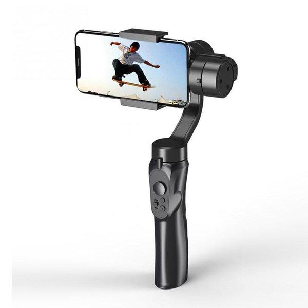 3 Eje liso teléfono inteligente estabilización titular H4 asidero cardán Estabilizador para Iphone Samsung cámara de la acción S5