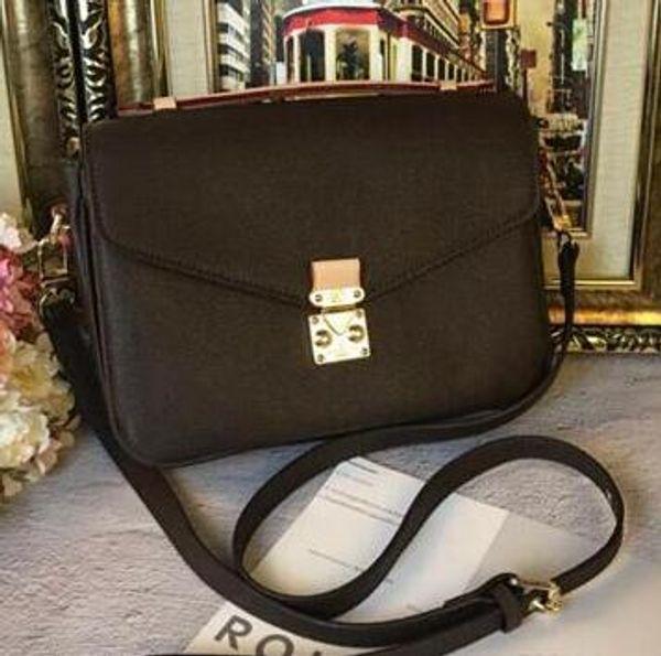 best selling Newset Classic Messenger Bag Real Leather Women Handbag Pochette Metis Totes Designer Handbags Purse Shoulder Bags Crossbody Bags M40780