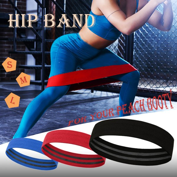 Hip Resistance Loop Bands Elastic Band Fitness Equipment Rubber Bands Expander Booties Squat Training Exercise Workout