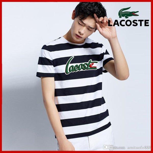Livraison Gratuite Hommes T-shirts Balr street tide marque manches courtes col rond en vrac coton personnalité hommes '