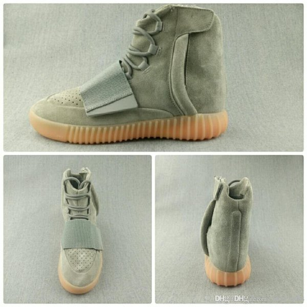 new product 8a06d 8e3bf Actual Shooting Adidas Yeezy 750 Boost V1.0 Light In Dark Kanye West Shoes  Sneakers 750 Boost Men'S Women'S Sports And Leis Dress Shoes Wedge Shoes ...