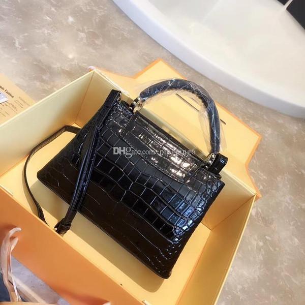 freeship ysiykiy High quality designer ladies' tote bag handbags purse Crocodile pattern bolsas shoulder bags women messenger bag