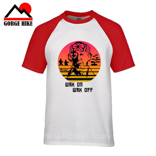 jujutsu The Karate Kid Miyagi Do Master T Shirt 2019 New Streetwear T-shirt brasiliana cerata su cera off manica corta