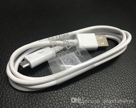 Cavo USB originale di alta qualità di sincronizzazione del cavo di tipo C di dati di tipo ad alta velocità 1M per Samsung Galaxy S4 S7 S8 S9 S10 Nota 9 Telefono Huawei P 8 7