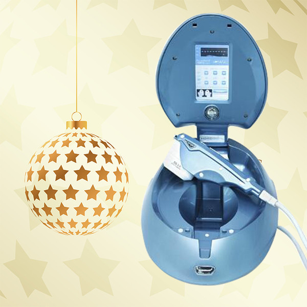 Kırışıklık Kaldırma Hifu Ev Kullanımı Yüz Kaldırma cilt bakım makinesi Mini HIFU ev ultrasonik bıçak anti-aging