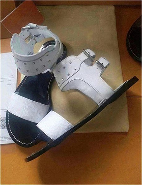 Luxury women nomad sandals Summer Ladies Canvas gladiator style flats sandal black golden sandals for Party Sexy Fashion Ladies Shoes Q84