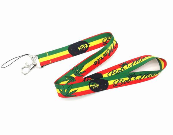 Shiping libre al por mayor 20pcs Bob Marley Rasta (verde, amarillo, rojo) 18