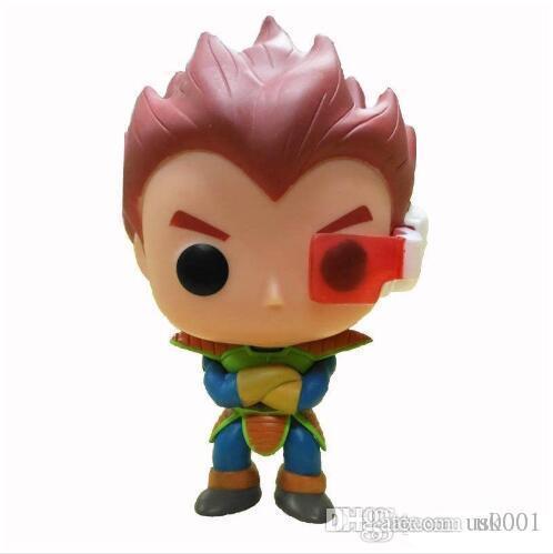 Regalo de promoción Funko Pop Dragon Ball Z Goku Super Saiyan God Planet Arlia Vegeta Vinilo Figura de acción con caja