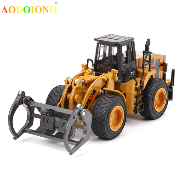 1:40 Simulation Wood Catcher Alloy Car Model Toy Engineering Truck Die-cast Vehicle for Boy Children Kids Xmas Birthday Gift Toy