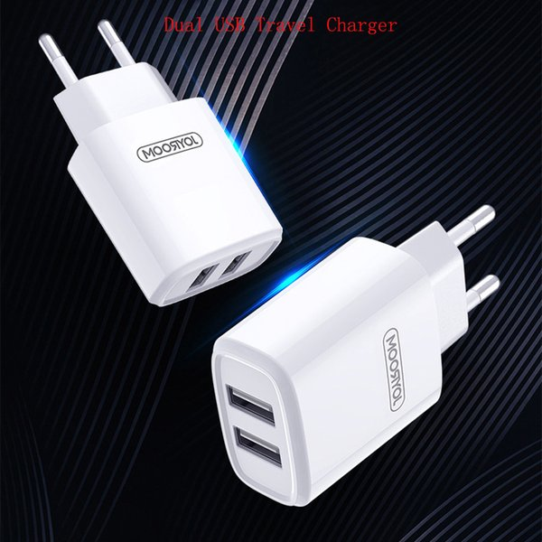 Universal USB Quick charge 2.4A for iphone 7 XS Max EU UK Plug Mobile Phone Fast charger charging for Samsung Wall Charger