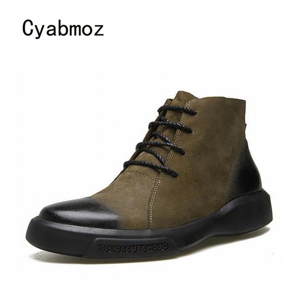 Plataforma Marca Zapatos Moda De Cuero Compre Hombre Cyabmoz wT7X8qO