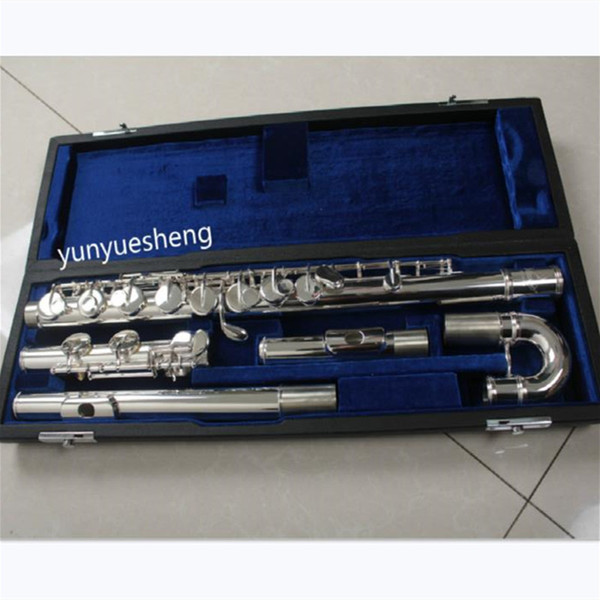 New Alto Flute 16 Closed Holes offset G Cupronickel Body and C footjoint with Case