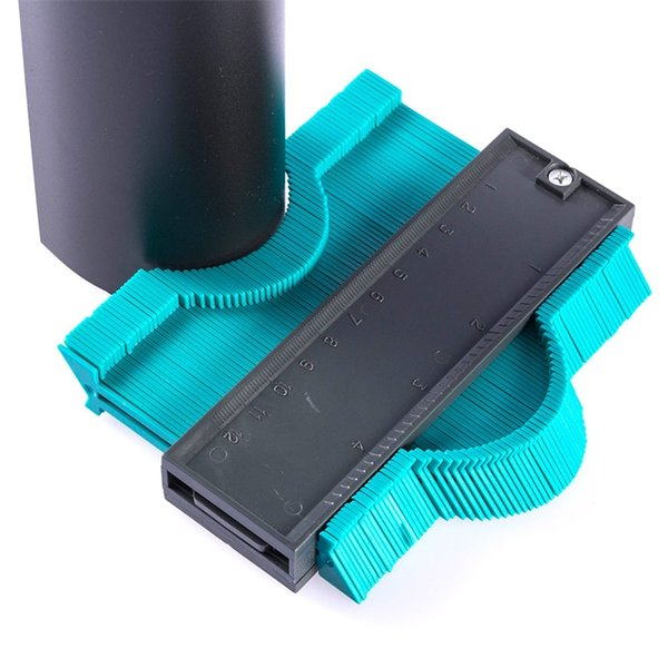 Plastic Profile Copy Gauge Contour Gauge Duplicator Standard Width Wood Marking Tool Tiling Laminate Tiles General Tools