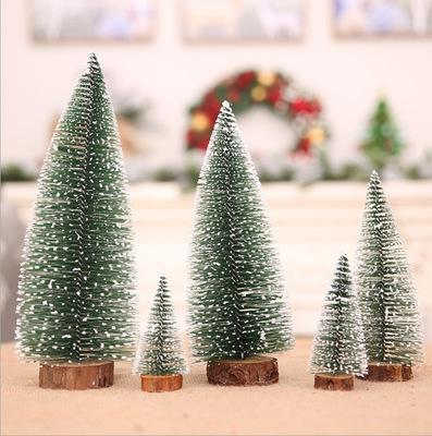 Mini Christmas Tree Decorations Supplies Diy Small Xmas Tree Table Decoration Placed In The Desktop 6 Size To 5cm 30cm Looking For Christmas Decorations Luxury Christmas Decorations From Merryseason 21 76 Dhgate Com