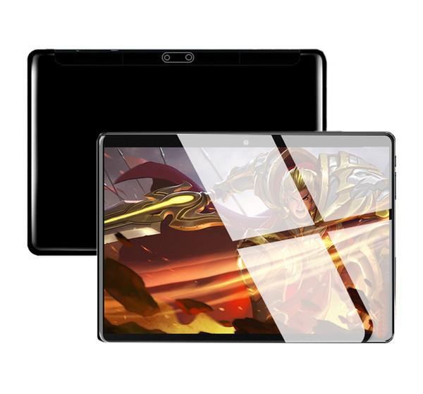 2019 10-Zoll-Tablet-PC-Computer, Octa-Core, 4G-RAM, 64G-ROM, 1280 * 800 IPS, 3g-Ruf-Doppelkarten-Standby-SIM, Gps, OTG, WIFI, Bluetooth-Anruf, Telefongeschenke