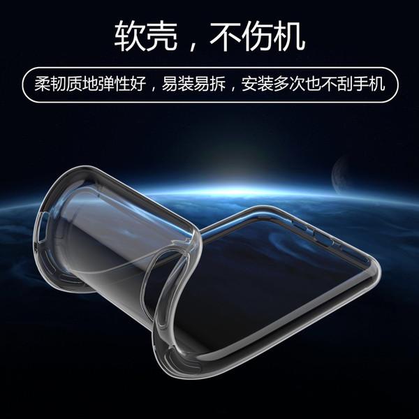 Ultra İnce Slim Fit Yumuşak Silikon TPU Koruyucu Kapak VIVO Z5X / Y17 / X27 / X27 PRO / V15 / Y93 / V11 / Y95 / Y83 / X23 / X6 / X7 / X9