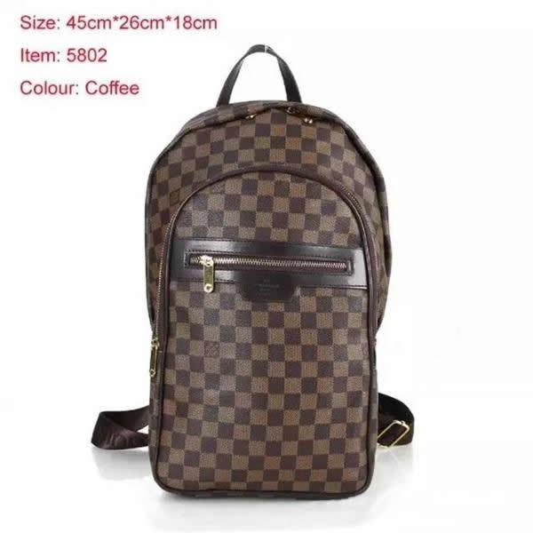 Diseñador de Europa de alta calidad nueva llegada bolsos de moda N41612 bolsa de viaje Damier Cobal para hombre mochilas de alta calidad Michael Men School Bag