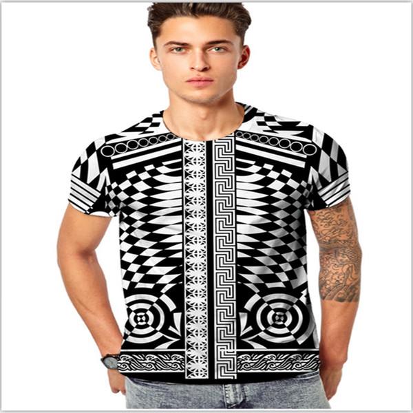 New Medusa Men T shirts Cotton Poloshirt Shirt 3D Floral Print Hip Hop Funny T shirts Fashion Casual Mens Tees Tops