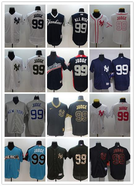 buy popular f45d1 38b11 2019 Custom New York MenWomenYouth Yankees 99 Aaron Judge El Mago Program  Replica Celtic Flexbase Authentic Baseball Jerseys From Wch9, $17.25 | ...