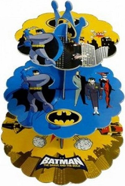 top popular Partypark Batman Cake Stand Ship from Turkey HB-000646996 2019