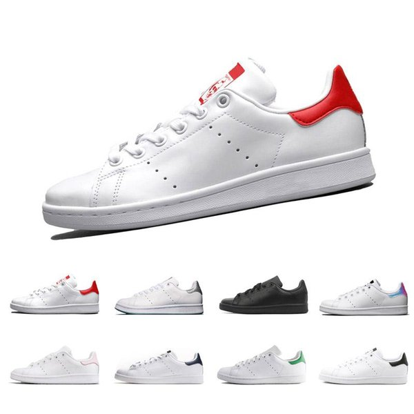 New 2019 Chaussures Scarpe Stan Smith Zapatos Classic Casual Shoes High Quality Smith Men Shoes Casual Leather Women Sport Sneakers Shoes Online