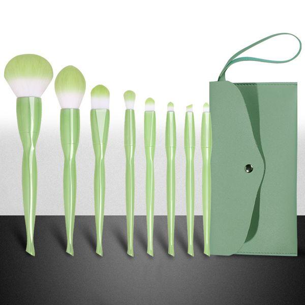 Verde con il sacchetto verde