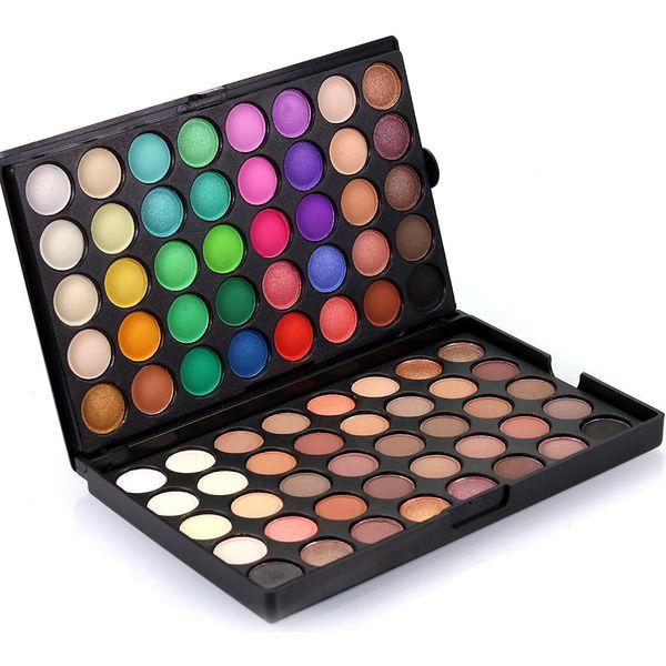 80Colors Eye Shadow Palette Makeup Palettes Bare pearl matte eyeshadow dish Professional 2 layer makeup tray Eyes Shadow 20pcs GGA1790