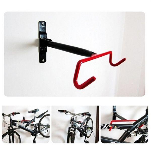 2pcs Bicycle Bike Cycling Wall Mount Hook Hanger Garage Storage Holder Rack New