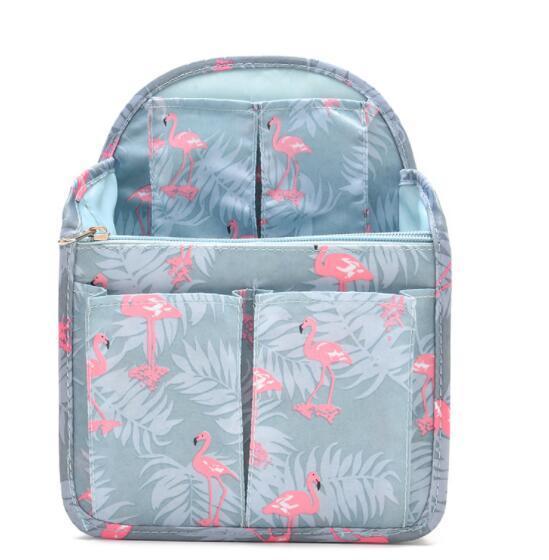 Dual Bag In Bag Frauen Einfügen Handtasche Organizer Geldbörse Makeup Case Storage Liner Bag Ordentlich Reiseeinsatz Aufbewahrungsbeutel für Frauen