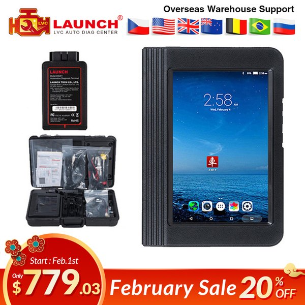 Launch X431 V 8inch Wifi/Bluetooth Diagnosis tool Full System X-431 V auto Scanner Support Multi-Language Online Update DHL free