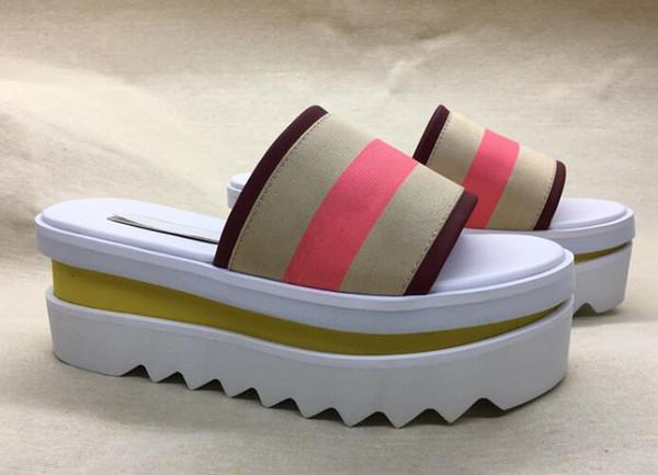 Последняя Стелла Маккартни женские тапочки Обувь Высочайшее Качество Натуральная Кожа Женская Мода Платформа Клин Платформа Оксфорды тапочки zz10