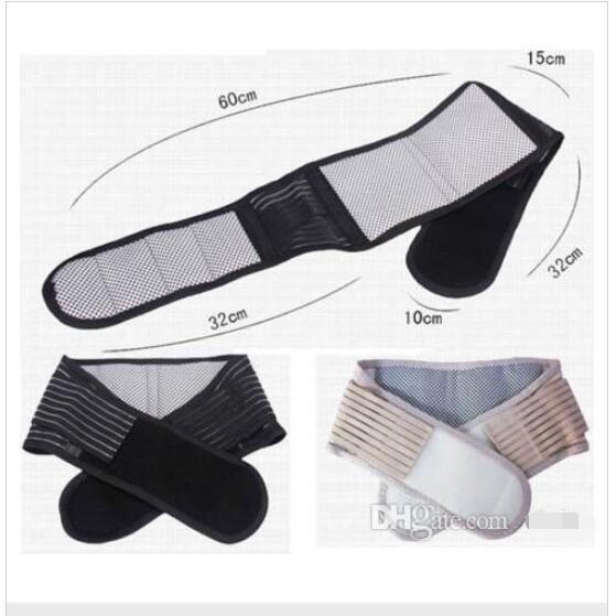 Hot Magnetic Slimming Massager Belt Lower Back Support Waist Lumbar Brace Belt Strap Backache Pain Relief Health Care Free Shipping BB