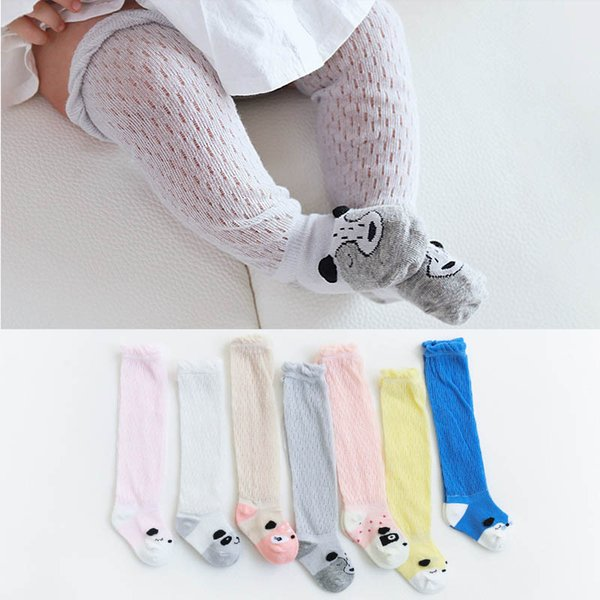 68ca73b50 Cartoon Baby Socks Toddler Socks Baby Girls Cotton Sock Casual kids Knit Knee  High Socks boys
