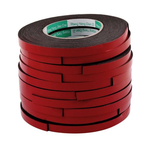 Uxcell 10 pz 5 m 10mm Double Sided Sponge Tape Adesivo Adesivo Schiuma Colla Striscia di Tenuta Spugna Schiuma Nastro di Gomma Nastro In Neoprene T190618