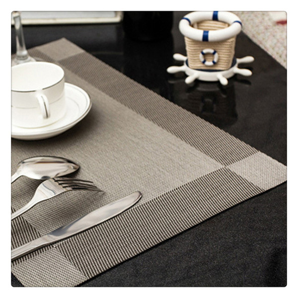 Maison Mignon Baleine Imprimé Napperons Table de salle à manger Fashion Isolation Tapis S