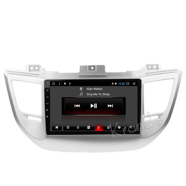 "Krando Android 8.1 10.1"" IPS Big screen car multimedia system for HYUNDAI TUCSON 2015+ navigtaion player radio GPS wifi BT car dvd"