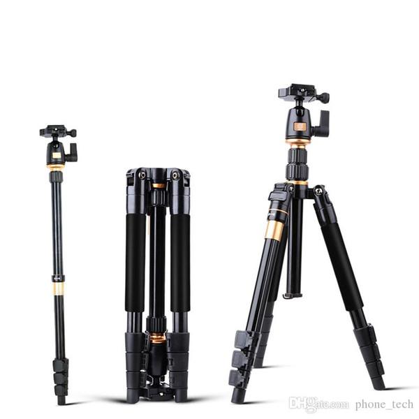 Штатив камеры алюминиевый сплав камеры видео монопод профессиональный выдвижная штатив с быстросъемной пластиной стенд ТОП
