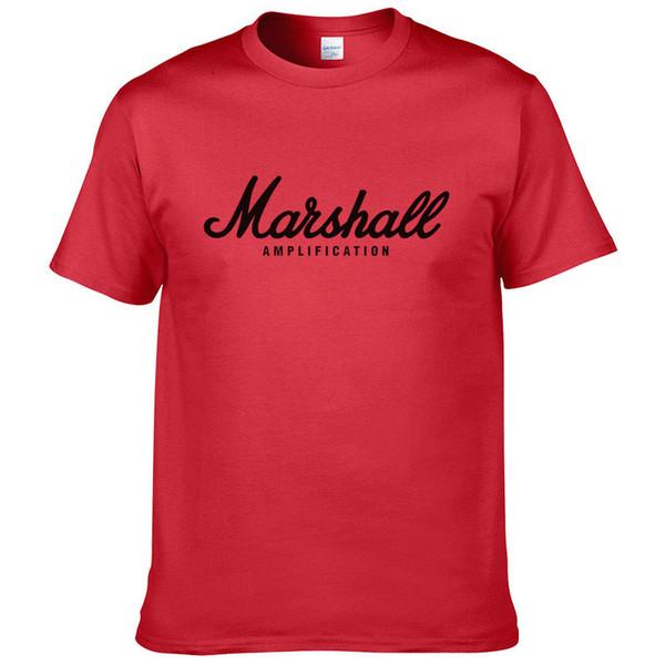 Tiene fiebre Caja de altavoz de sonido Marshal Marshall Hombres Y Mujeres cuello redondo grande Código de manga corta camiseta