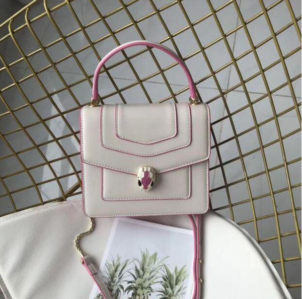 saco de europeus e americanos cadeia de moda senhora snakeshead espaço diagonal portátil pode ser tamanho é 20 * 17 * 7cm