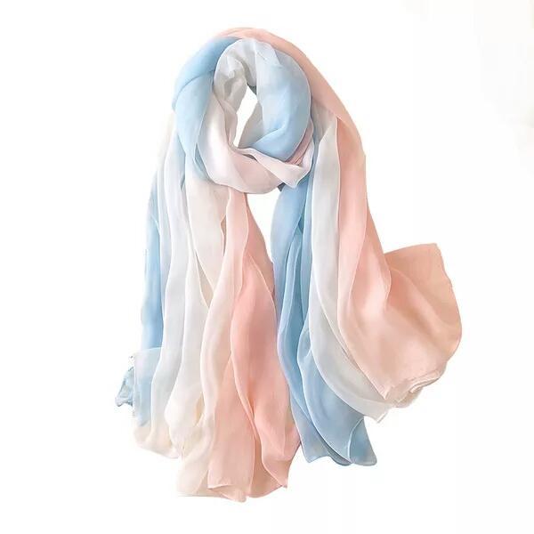 Summer women travel gauze travel super-thin beach towel air conditioning summer beach sunscreen scarf scarf shawl