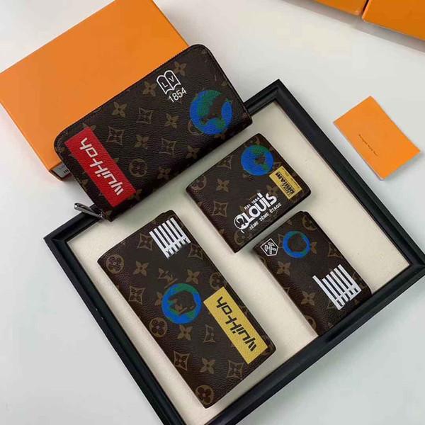 67824 male genuine leather luxury wallet ca ual hort de igner card holder pocket fa hion pur e wallet for men hipping, Red;black