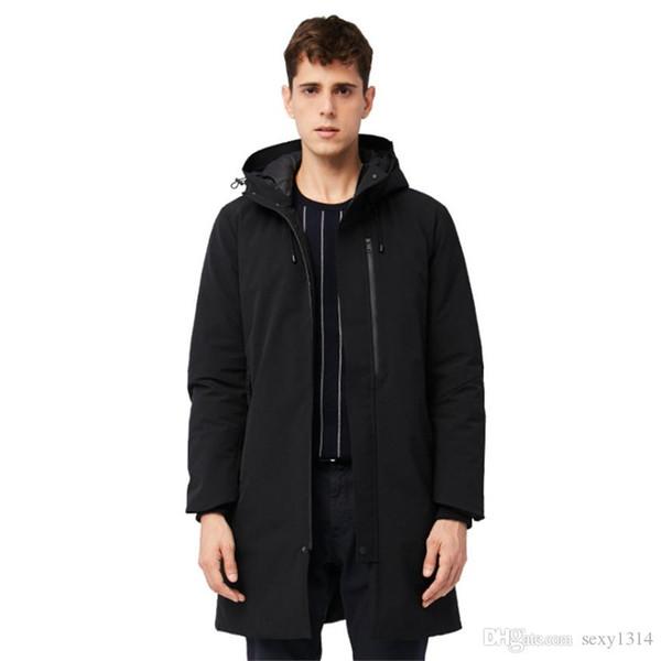 Doudoune hiver 2019New nouvellement conçue, version coréenne, veste en duvet de canard gris