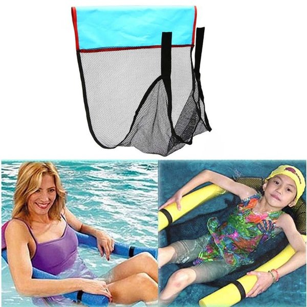 top popular 1Pc Floating Chair Net Noodle Sling Mesh Chair Net for Swimming Pool Party Kids Bed Water Recreation 2019