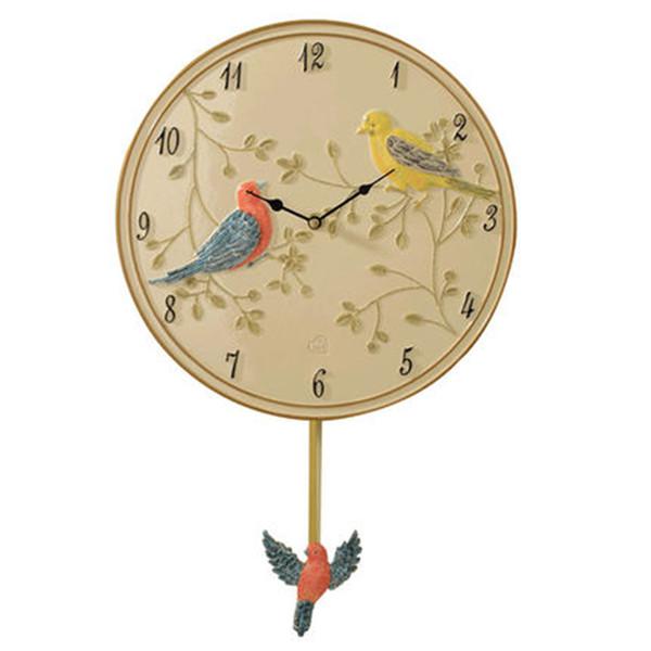 Art Creative Silent Birds Wall Clock Modern Design Pow Watch Mechanism Wall Watch Clocks Relogio Parede Gift Ideas Clocks