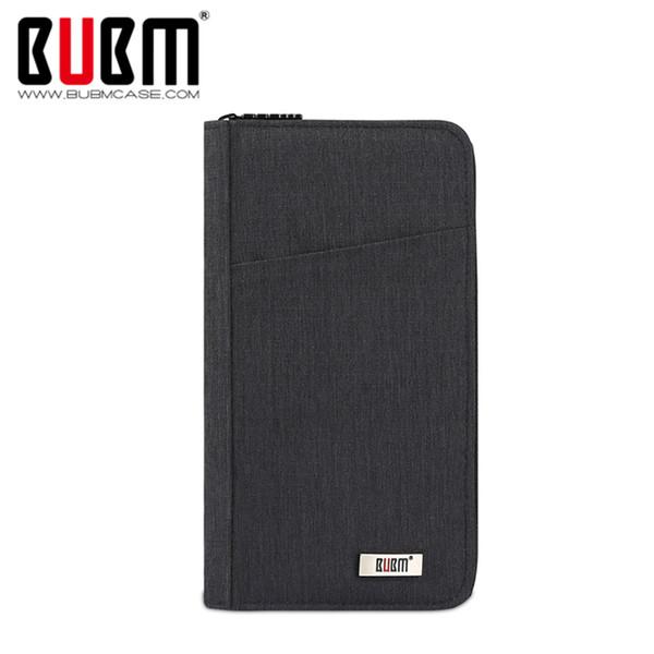 BUBM Travel Passport Covers Holder Document Organizer Card Package ID Passport Cover Case Wallet License Holder