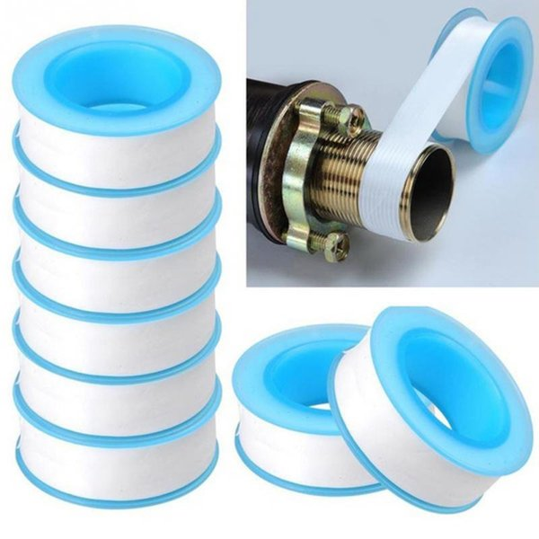 best selling Roll Plumbing Joint Plumber Fitting Thread Seal Tape PTFE For Water Pipe Plumbing Sealing Tapes 20pcs set