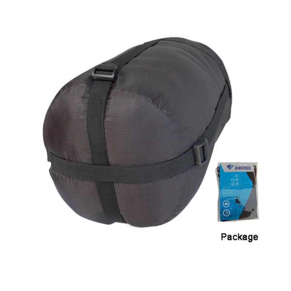 Outdoor Portable mini BlueField Lightweight Compression Stuff Sack Bag Outdoor Camping Sleeping Small Black US Stock